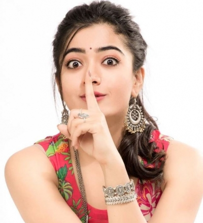 Rashmika says her heroes getting married if she acts together with any bachelor hero