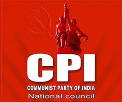 CPI protest against gas price hike in visakhapatnam