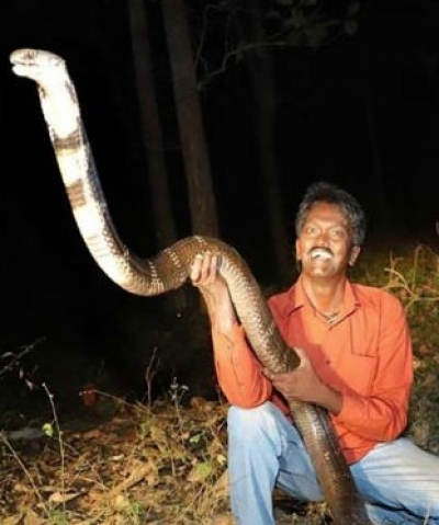 Snake Catcher Suresh in Hospital