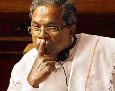 Siddaramaih other Congress leaders Detained