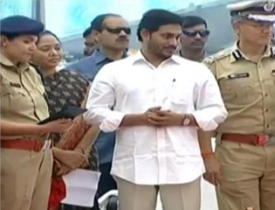AP CM Jagan appreciates state police