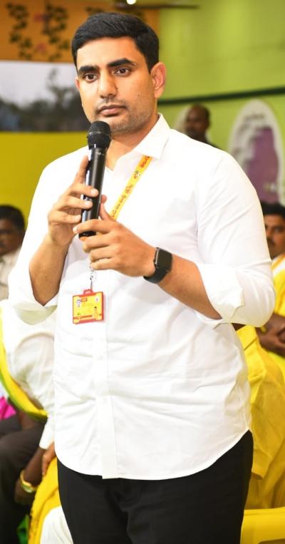 nara lokesh allegations against jagan