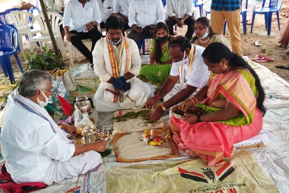 A temple for CM Jagan in West Godavari district by YCP leaders