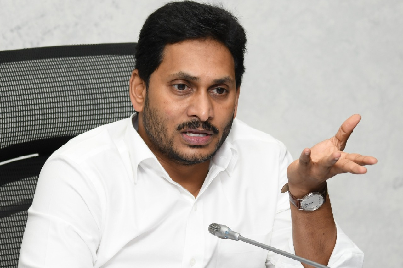 CM Jagan asks officials how the crane accident occurred at Hindusthan Ship Yard