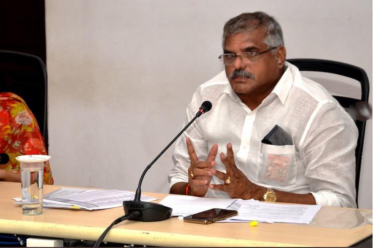AP Minister Botsa Sathyanarayana alleges Chandrababu admitted earlier estimations in Polavaram project