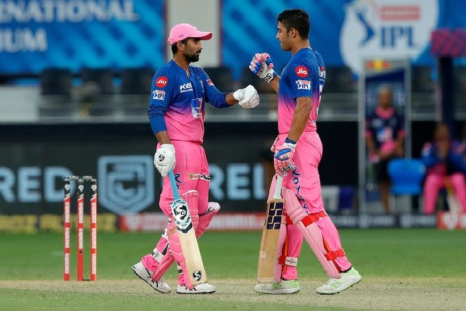 Sunrisers lost to Rajasthan Royals in Dubai