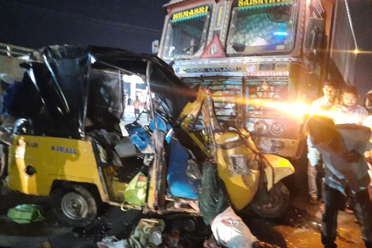 Fatal road accident in Nalgonda district