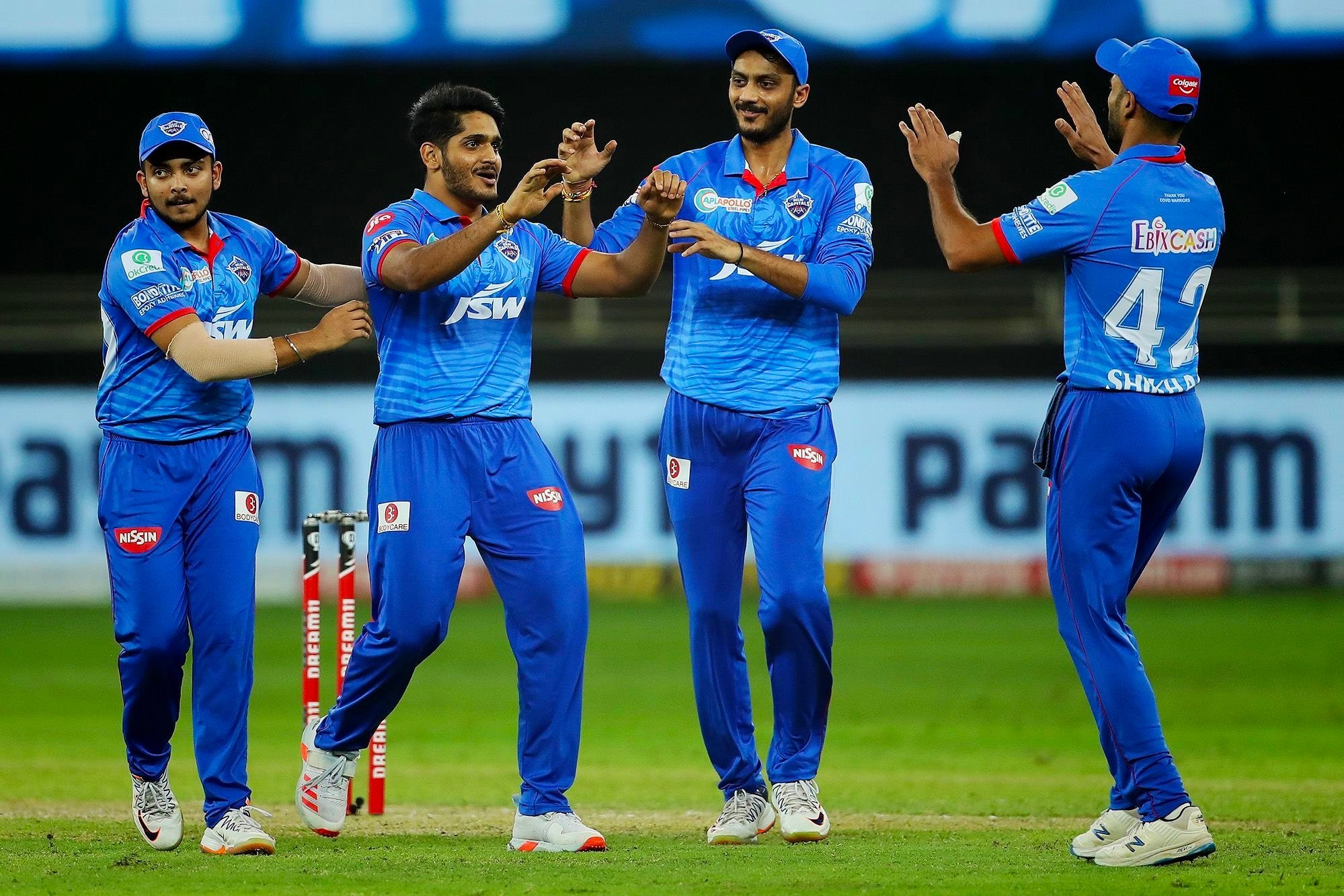 Delhi capital won by 13 runs over Rajasthan royals