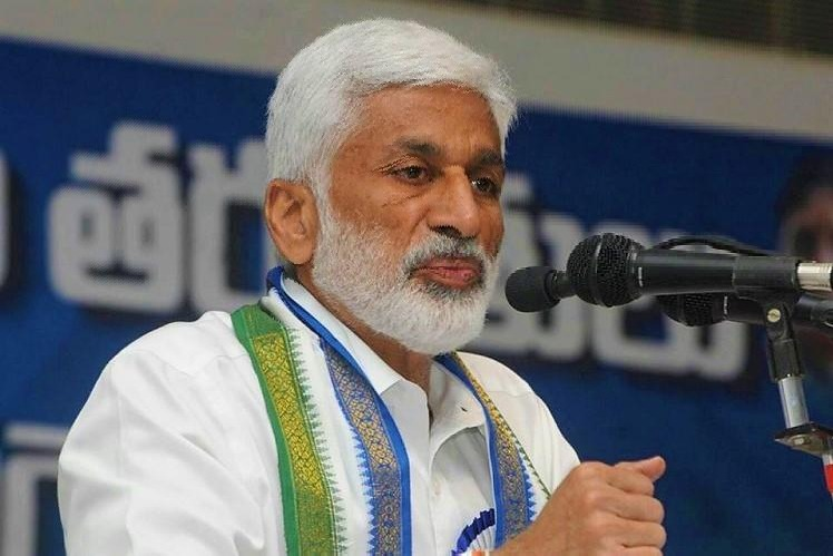 Modi commented that Chandrababu used Polavaram like ATM says Vijayasai Reddy