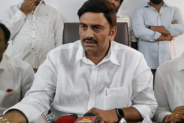 I have capacity to conduct a rally in Pulivendula says Raghu Rama Krishna Raju
