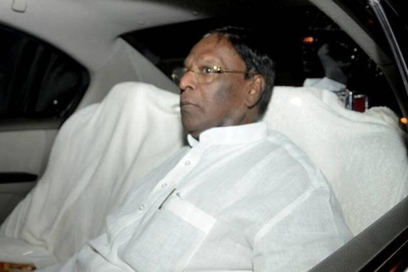 Operation Lotus Comes to Puduchcherry says CM Narayanaswamy