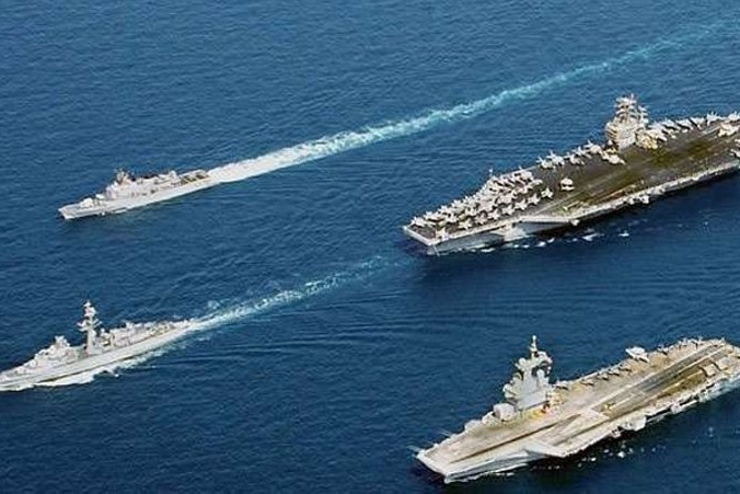 India and Japan navies conduct exercise in Indian Ocean