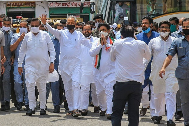 BJP Offers unlimited offer to congress rebel MLAs