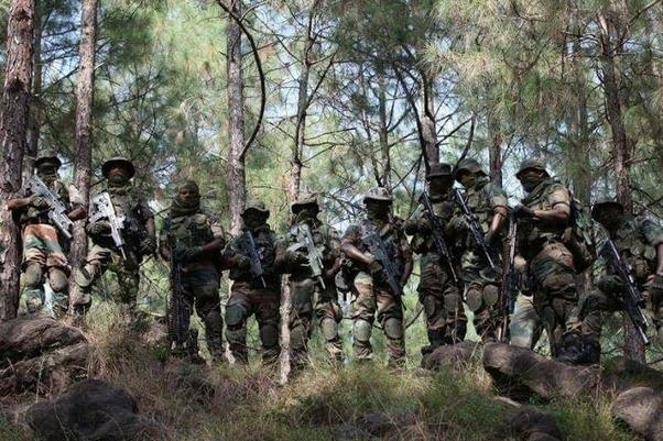 India Sends Ghathak Commandos to Border