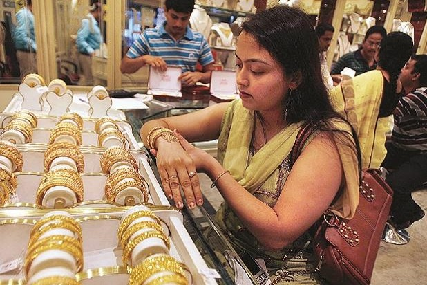 Gold Price Hits Record High in India