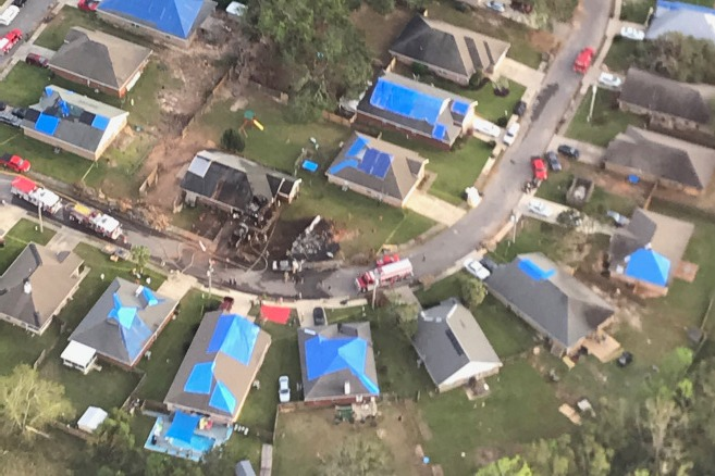 US Navy Flight Crashed in Alabama