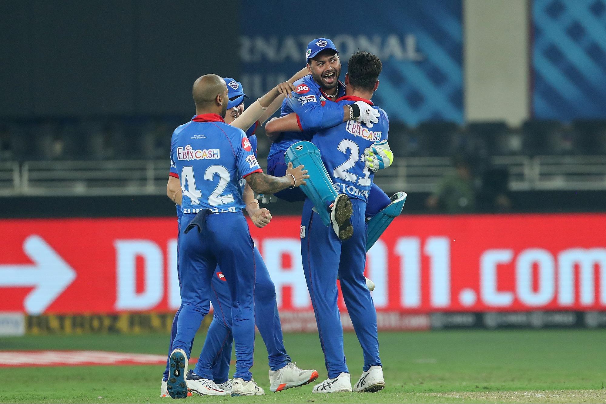 Delhi Capital won Super over