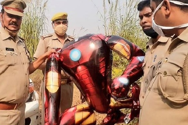 Iron Man Balloon Triggers Panic In UP Town