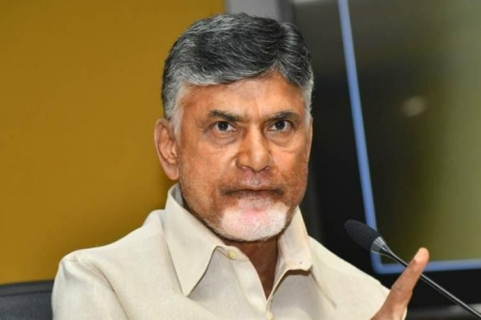 Chandrababu criticises Jagan on Polavaram project