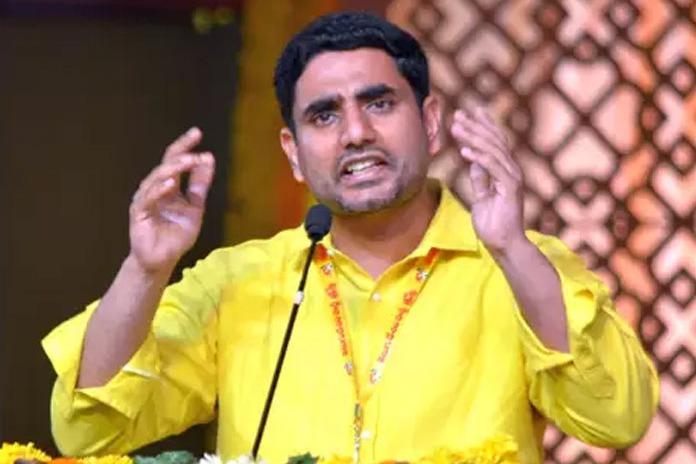 Jagan is constructing a palace in Chennai says Nara Lokesh