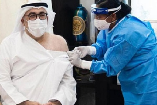 Corona Vaccine First Dose for UAE Health Minister
