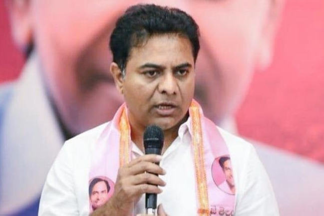 Revanth Reddy is not a leader says KTR