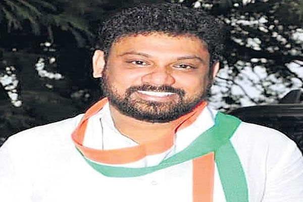 sivasena reddy elected as telangana youth congress president