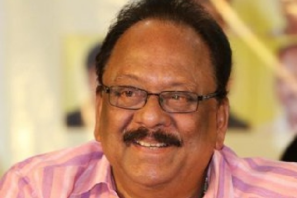 Krishnam Raju acted to gether with Prabhas in Radhe Shyam