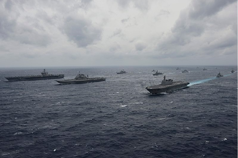 China responds after India announced Australia will be participating in Malabar drills