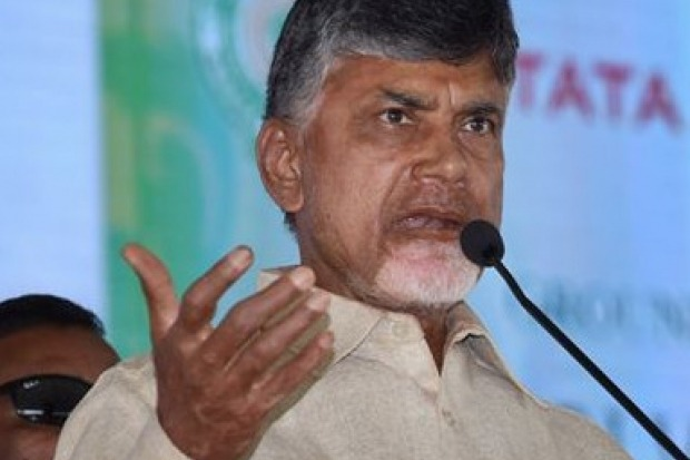 Chandrabu fires on AP government decisions