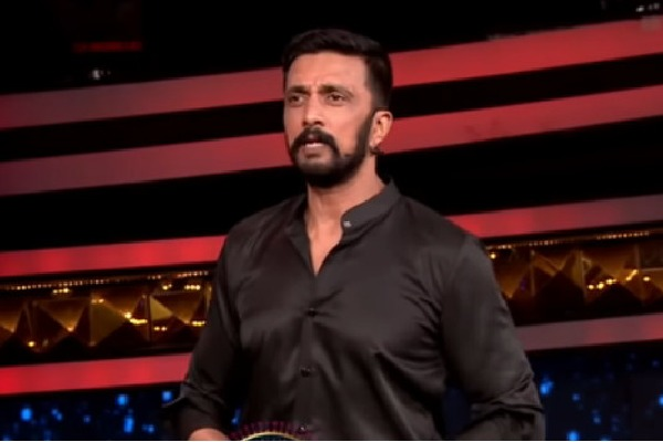 Kannada actor Sudeep makes fun at Telugu Bigg Boss show