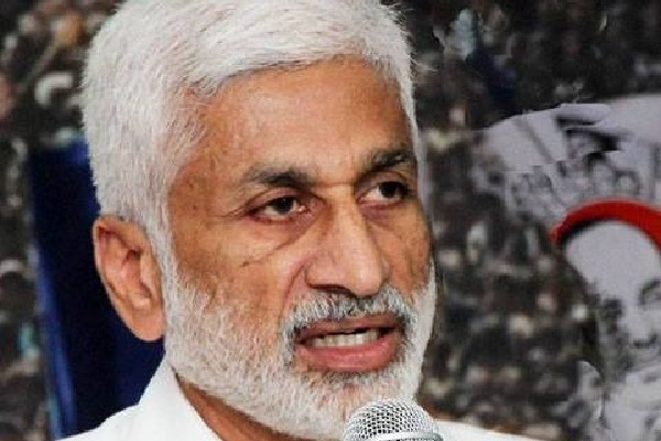 Vijayasai Reddy says Babu brought just water and soil for state