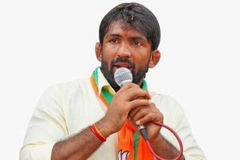 Wrestler Yogeshwar is BJPs Candidate in By polls