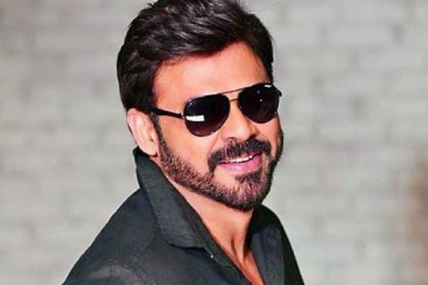 Actor Venkatesh greets Team India