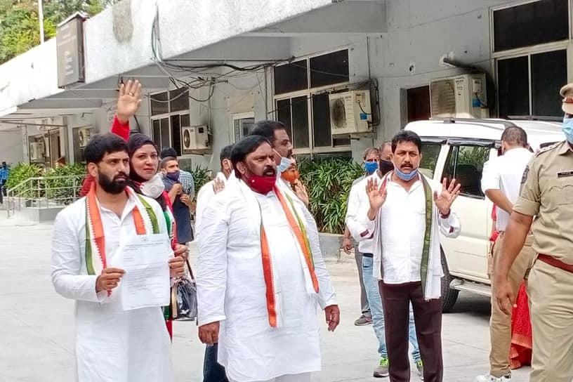 Iam not leaving Congress party says Anjan Kumar Yadav