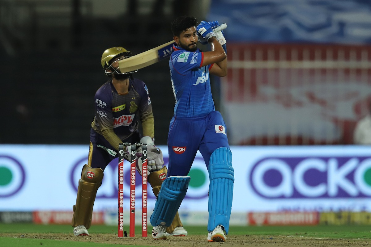 Delhi Capitals set huge target before Kolkata Knight Riders