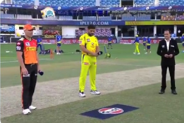 Sunrisers Hyderabad has won the toss against Chennai Superkings