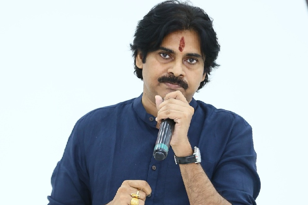 Insurance company handed over Insurance papers to Pawan Kalyan