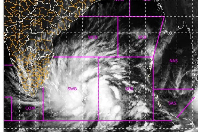 Deep Depression in Bay Of Bengal intensified into Cyclone Burevi