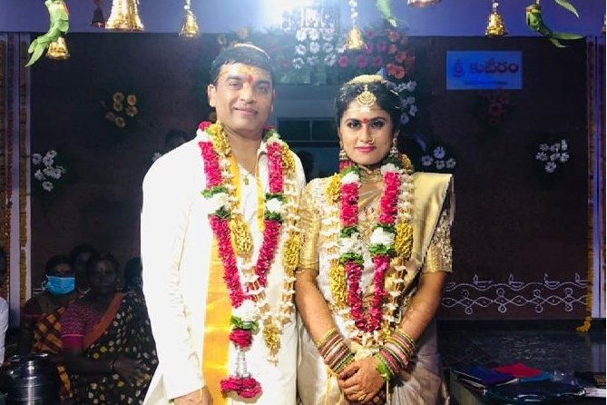 Producer Dil Raju and his wife met Minister Errabelli couple