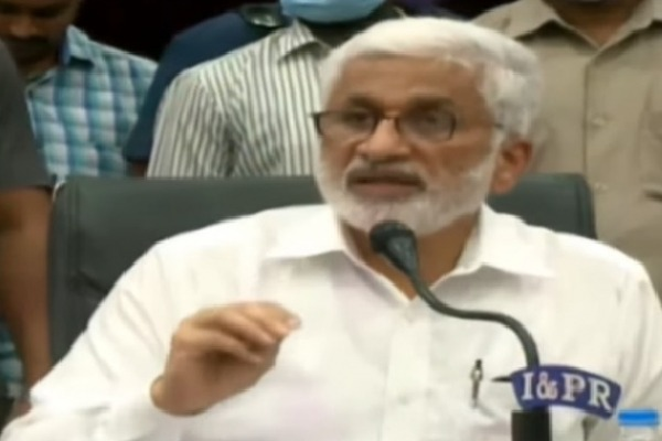 Till end i will be with Jagan says Vijayasai Reddy