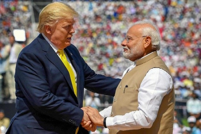 Modi wishes Trump and Americans on their Independence Day