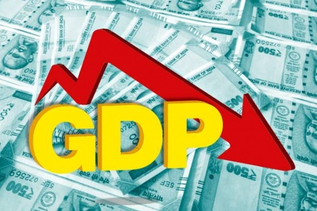 GDP Growth Rate slows in q4