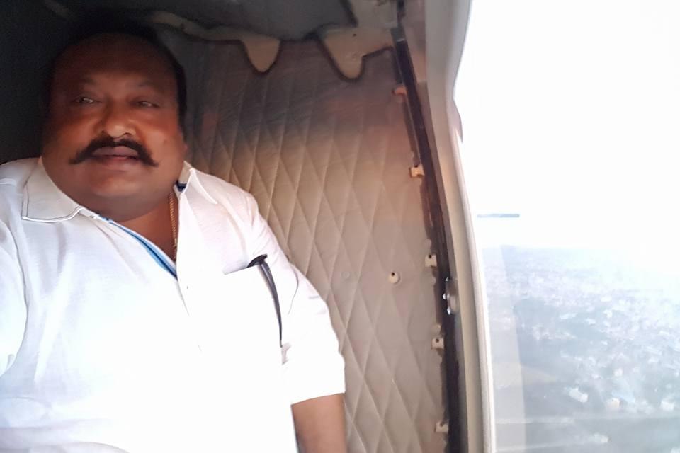 Gangula Kamalakar Escort vehicle overturned as SI injured