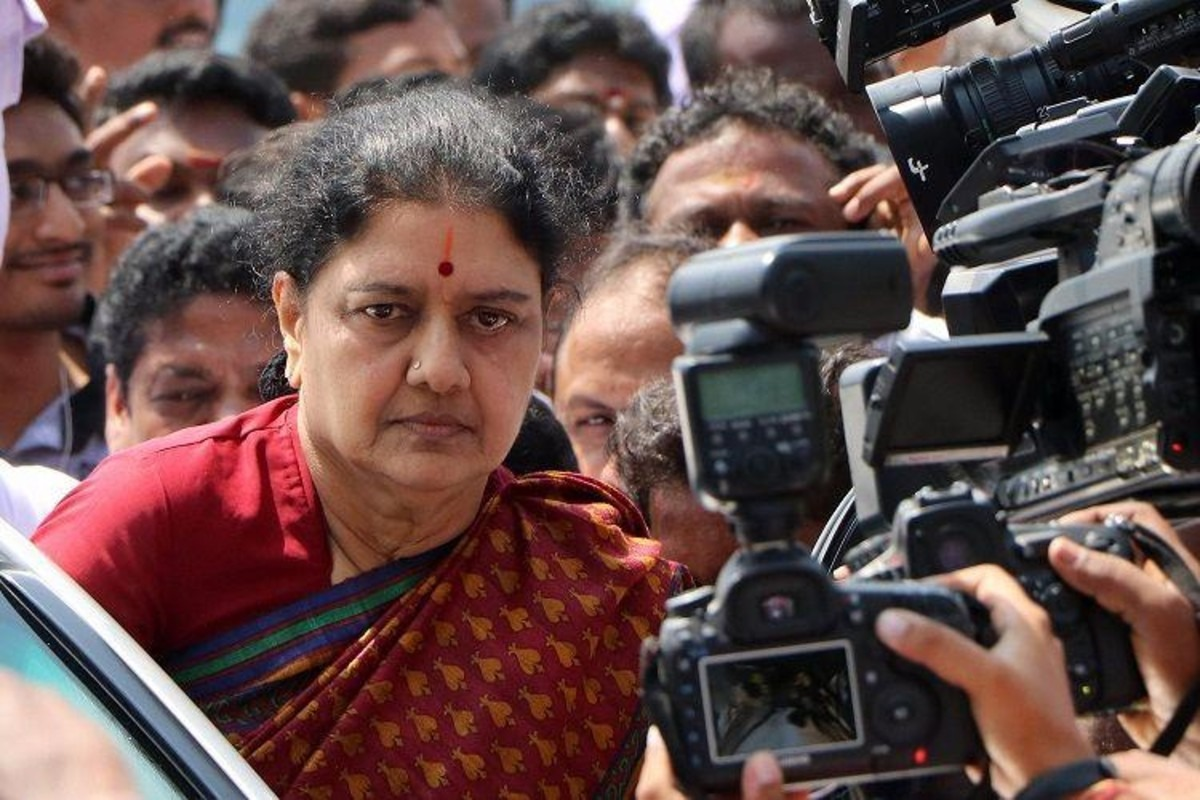 VK Sasikala May Be Released From Jail In Jaunary 2021