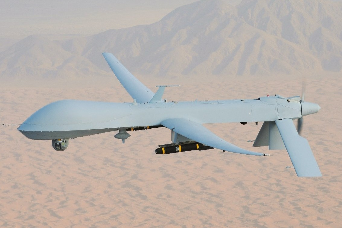 India inducts two predator drone into navy