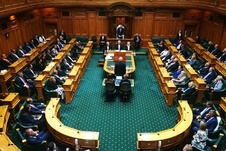 New Zealand MP Gourav Take His oath in Sanskrit