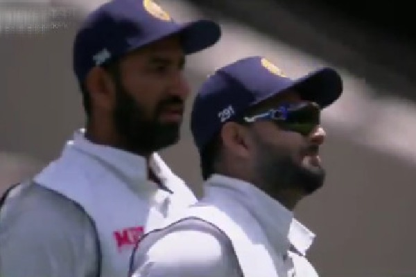 War of words between Pant and Wade in Melbourne test
