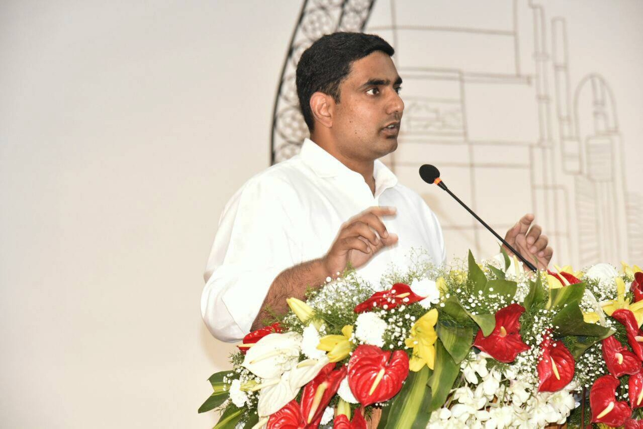 Nara Lokesh questions CM Jagan over Dharma Parirakshana Yatra permission cancellation