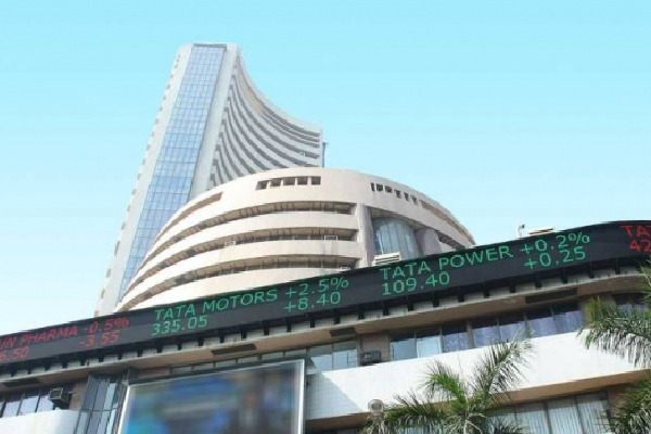Sensex closes 879 points high